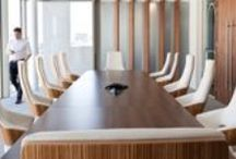Boardroom and Conference room design / Modern Boardroom and conference room design ideas. Creating a room where great ideas and important decisions can be discussed.