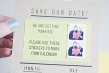 Wedding Invitations/Save the Date / wedding, save the date, invitations