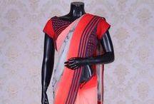 Designer Saree with Readymade Blouse
