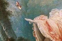 Rosa e azzurro / XVIII century