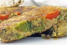 Comida Tortillas y Croquetas