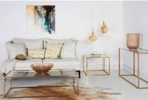MODERN STYLE / A clean & fresh look with a hint of Luxury. Light colours with accents of Chrome or Brass, Velvet & Silk.
