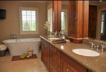Spaces: Baths & Ensuites / Luxury bathrooms and ensuite bathrooms of REMAX Escarpment listings.