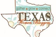 TXWB Pin! / Pins from the ladies of the Texas Women Blogger group.