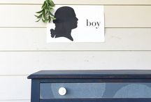 Ferpie and Fray Furniture / Hand painted goodness!