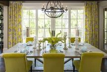 Colors - Yellow / This versatile sunny shade can be bold or calming!