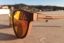 wooden sunglasses / Wooden sunglasses