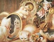 = ^ . . ^ = CATS - Paintings