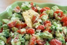 Zöldségfélék, saláták