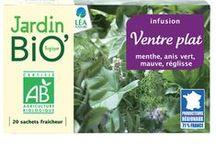 Les infusions santé/bien-être Jardin BiO'