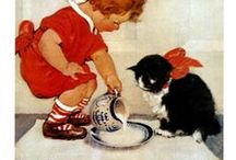 = ^ . . ^ = CATS - Vintage Photos & Cards