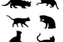 = ^ . . ^ = CATS - Silhouettes