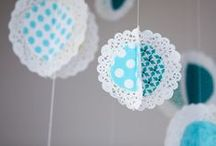 Cute Ideas / Craft, food and party ideas