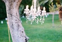 Weddlng lighting ideas / Get inspired by beautiful wedding lighting ideas to create atmosphere and make your reception look stunning