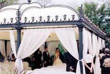 Outdoor wedding style / Get fun decoration ideas for your outdoor garden, beach, park, farm or vineyard wedding