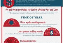 Wedding infographics / Find useful information from our Pinterest board of wedding-related infographics