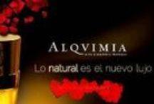 """Alqvimia cosmétics / La belleza íntimamente ligada al bienestar, a la armonía, donde la cosmética honra el cuerpo y el alma de las mujeres. """"Tenemos que hacer una belleza de transformación integral para la mujer""""-ALQVIMIA."""