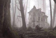 Spooks, Creepy Cute / Beautiful buildings, haunted, gothic, dark hearted