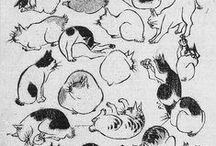 = ^ . . ^ = CATS - Utagawa Hiroshige