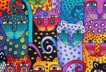 = ^ . . ^ = CATS - Laurel Burch