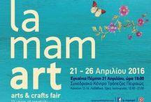 ΛΗΔΑ ΒΑΡΒΑΡΟΥΣΗ / Τιμωμενη Καλλιτεχνης la mamart 21-26 Απριλιου 2016  #θεσσαλονικη