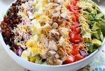 savories - salads / by Sylvia