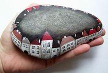 Crafts - Stones / ArtRocks - Pebbles - Stones -  Rocas - Codols -Piedras - Pedres - Illustration