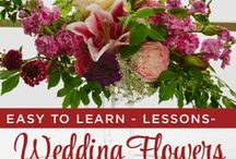 Wedding Flowers: How to Videos from uBloom.com! / A collection of J's Favorite How to Arrange Wedding Flower Videos. These Videos provide complete how to instructions for creating Bouquets, Flowers to Wear, Ceremony and Reception Flowers. Follow the Pins to uBloom.com and download the entire How to Video for $1 or $2. Learn how to arrange wedding flowers with the Flower Expert!
