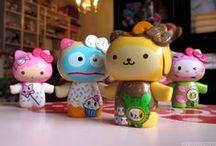 tokidoki x Sanrio Characters Holiday 2013 / by Maria Fleischman