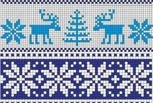 Norwegian Knitting Patterns / knitting but also other uses...