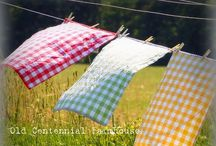 Yah for Gingham! / All things gingham... / by Tammy's Treasures