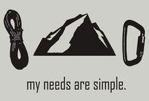 Climbing / Rock climbing • climbing gear • climbing spots / by Molly Monkeys