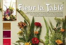 Fleur la Table' / Gatherings great and small are perfect opportunities to give and enjoy flowers (YOU do bring them, n'est-ce pas?) Farm to Table and Local First Trends propel flowers to the forefront as the rich gastronomy of France and markets of Paris provide and inviting backdrop