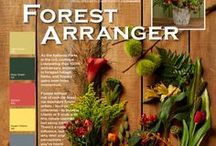 """Forest Arranger / As the National Parks in the U.S. continue celebrating their 100th anniversary, interest in foraged foliage,herbs and flowers gains even more momentum. Forage without the risk of rash (or fines) via reputable flower sellers- local or otherwise- to impress clients or friends with this nature-inspired, but savvy, trend. There's a rustic influence, but why limit your perceptions- you've hear of """"glamping"""" haven't you?"""