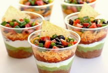 Super Bowl Food  / Family, friends, food:  recipe for a good day.  Oh, yeah, and football. / by Shenny Yen