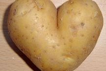 Potatoes & Sides / Pale skin, freckles, curly hair with a tinge of auburn -  gotta be the Irish in me that makes me love just about anything with a potato in it.  Then there are the green beans, broccoli, carrots, red peppers, zucchini,... / by Shenny Yen