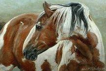 HORSES IN ART / by Evey Studios