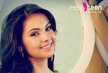 Candidatas a Miss Teen Nicaragua 2013 / Candidatas al certamen de belleza adolecente más importante de Nicaragua.