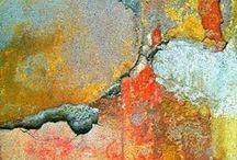Patina, Rust & Peeling Paint