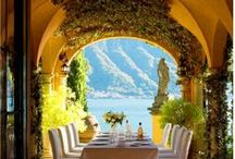 Dining, In & Out / entertaining out doors