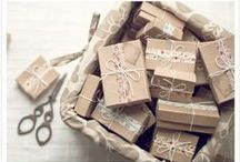 Present- / Wrapideas / So sweet and adorable ideas to make a present, with cheap materials!