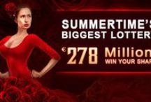 Lottery Promotions  / A list of images going on in the lottery world including super draws and promotions.