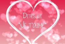 Saint Valentin ♥ / Des petits paradis terrestres, des images pleines de douceurs, des cadeaux pour lui faire plaisir... Pleins d'amour dans notre sélection pour la Saint Valentin !