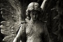 Angels & Demons / Stone angels for the most part but a few not so angelic figures too.