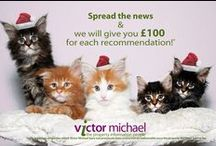 About us / visit our website for more information www.victormichael.com