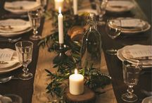 Joulukattaus / Christmas table setting