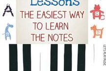 Music for Little Learners / Learning how to play music for the very young.