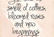 Coffee & interior / Coffee quotes | interior inspiration | creative ideas