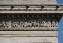 Arc De Triomphe, Paris, France / Detail Photos of Images