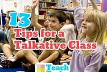 Classroom Management / Keep your school day running smoothly with these tips and ideas!